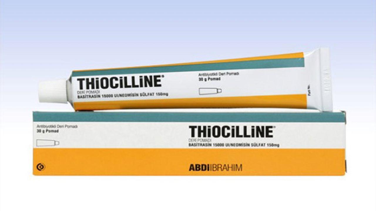 Thiocilline Nedir? Ne İçin kullanılır, Ne İşe Yarar, Fiyatı nedir?