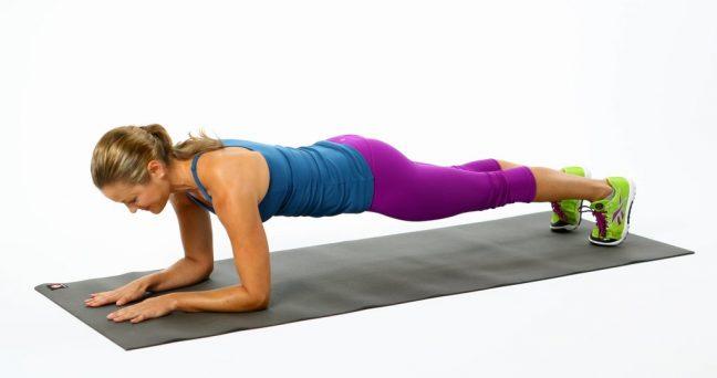 """Omurganızı """"Plank"""" Yaparak Dikleştirebilirsiniz"""