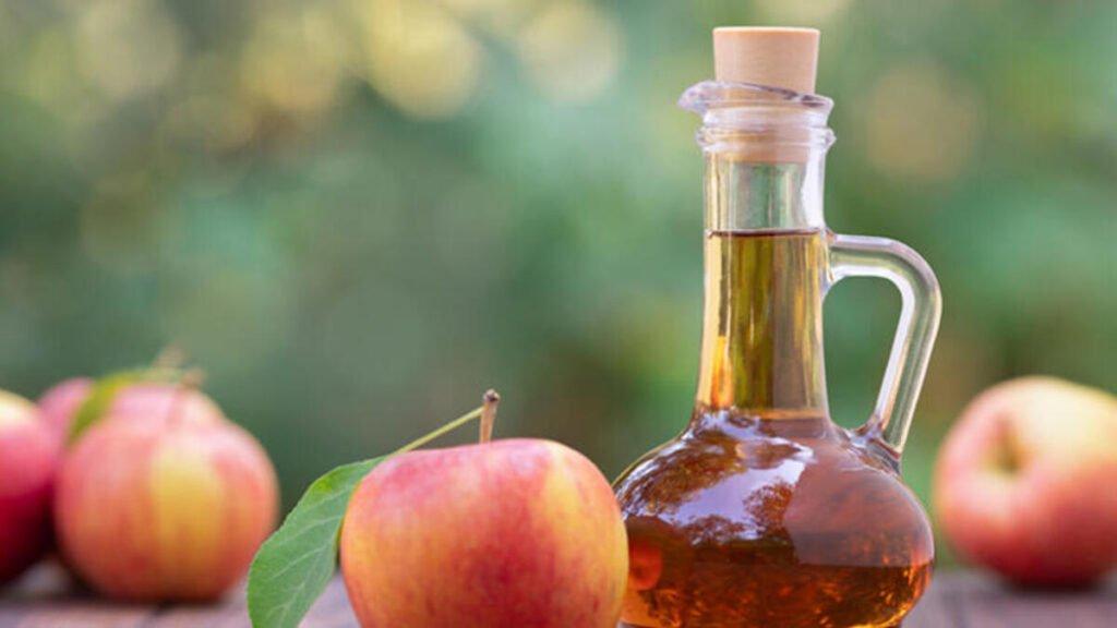 Tırnak mantarı için elma sirkesi