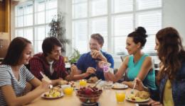 Ofis Çalışanlarına Beslenme Önerileri, Ara Öğün ve Öğle Yemeği