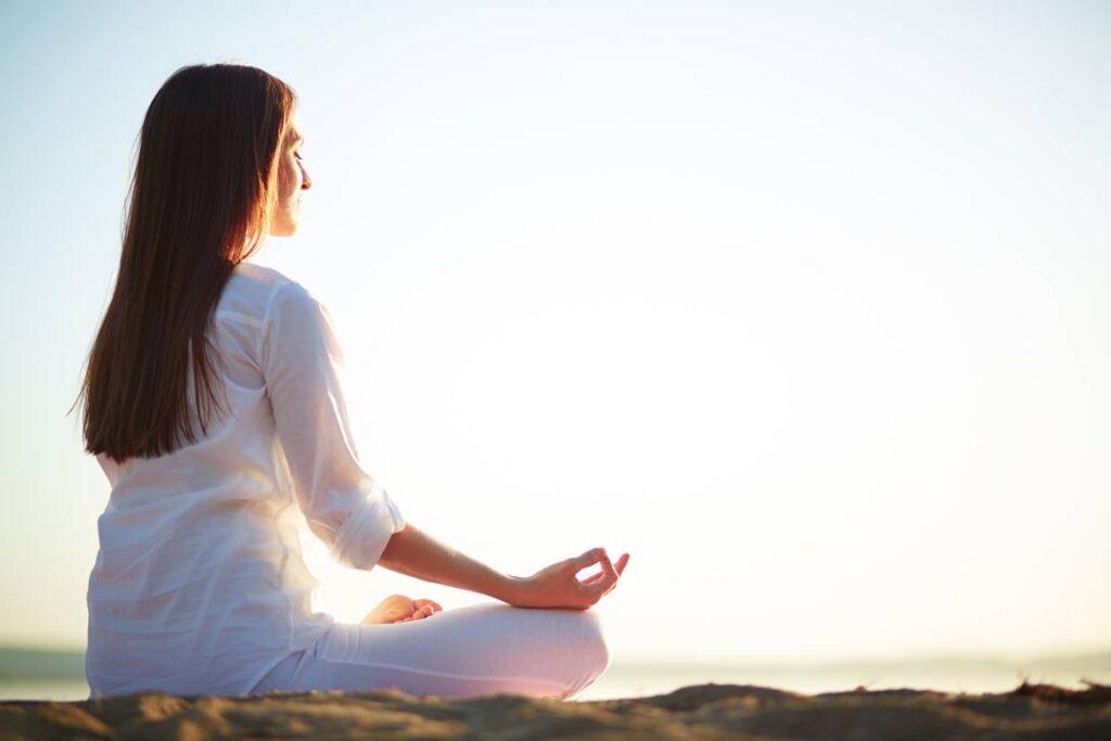 meditasyon ile zihni boşaltma