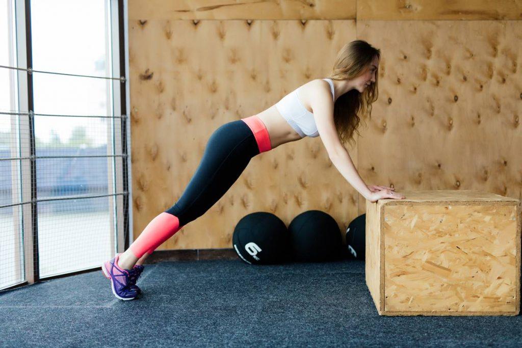 Yağ Oranını Düşüren Squat Thrust Box Jump Hareketi