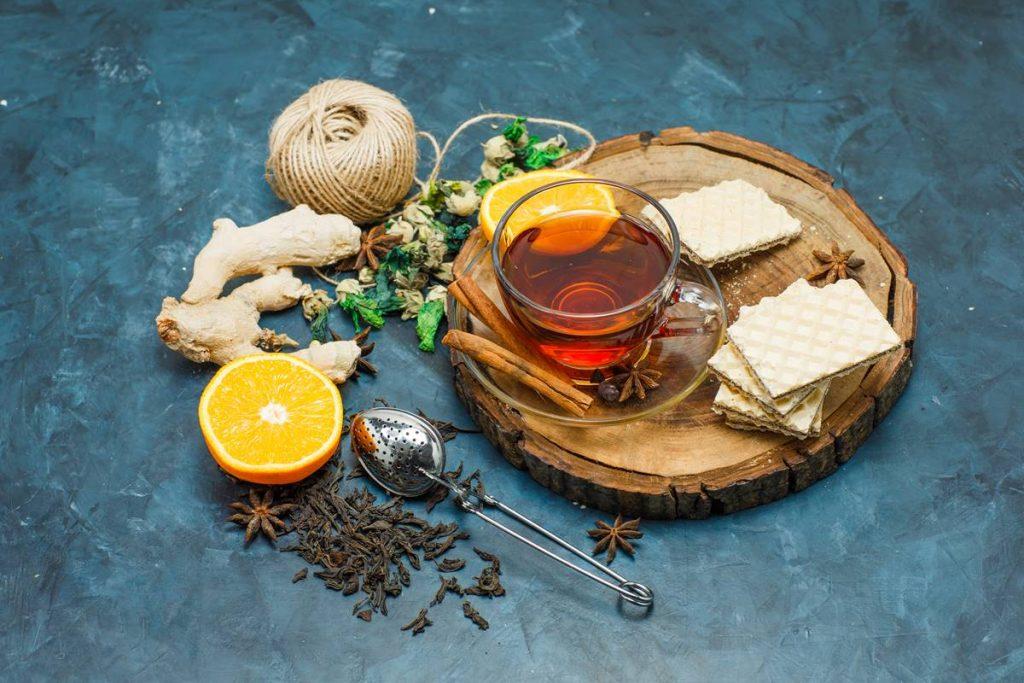 Yağ Yakan Zencefil Çayı