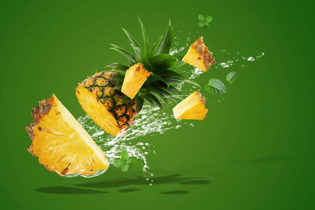 Ödem Oluşumunu Engelleyen Yiyeceklerden ananas