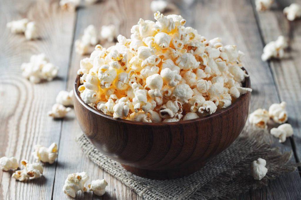 evde popcorn yapımı