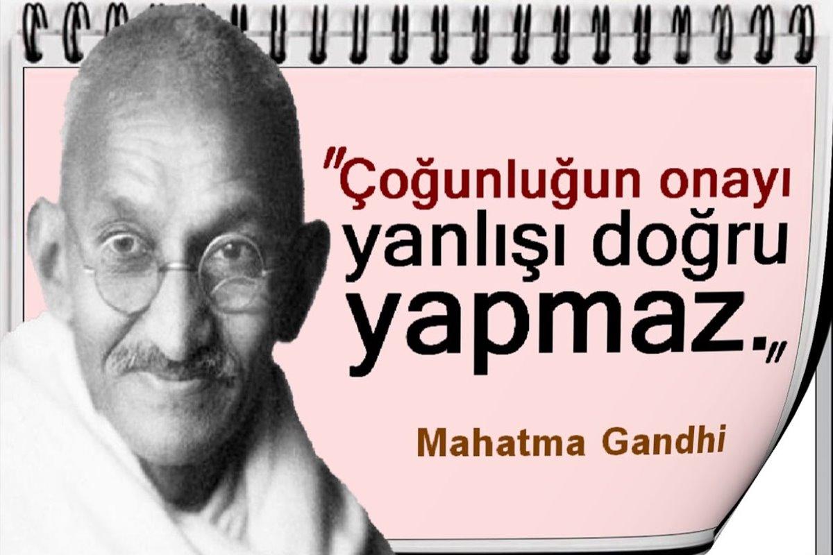Mathma Gandi Sözleri